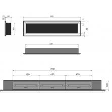 Dimensiones Simplefire Frame 1800