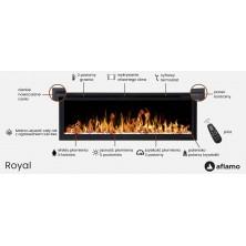 Características Chimenea eléctrica Royal 42