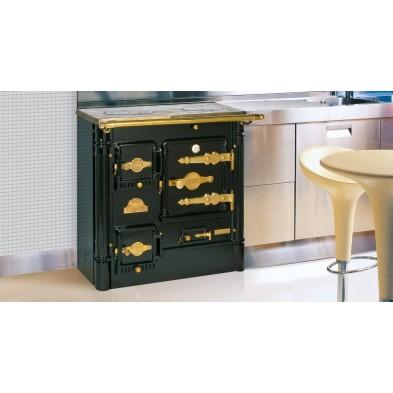Cocina de leña cerrada Hergom L-07 CH con encimera clásica