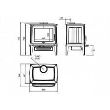 Dimensiones Hergom E-30 M