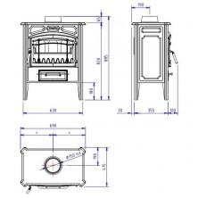 Dimensiones Hergom E-10 Plus